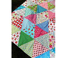 Free toddler bed quilt pattern Video