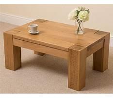 Free wood coffee table designs Video