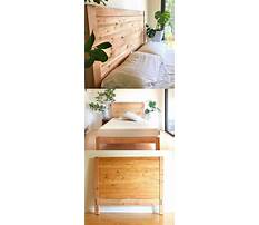 Free wood headboard plans Video