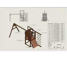 Free wood swing set plans Video