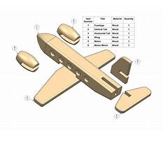 Free wood toy airplane plans Video