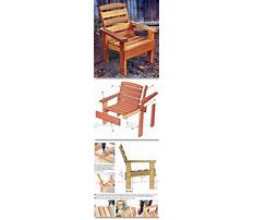 Free wooden chair designs plans Video
