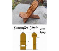 Free wooden chair designs Video