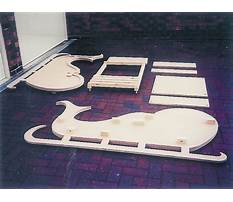 Free wooden sleigh plans Video