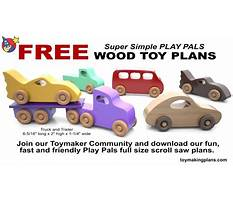 Free wooden toy truck patterns Video