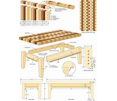 Free woodworking end table plans Video