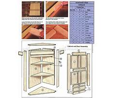 Free woodworking plans for corner cabinet Video