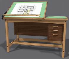 Free woodworking plans for drafting table Video