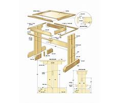 Free woodworking plans kitchen table Video