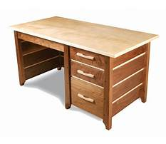 Free woodworking plans writing desk Video