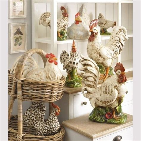 French Country Rooster Kitchen Decor