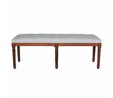 French wooden bench Video