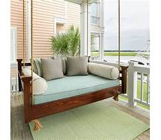 Front porch bed swings Video