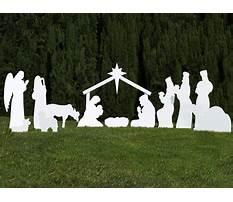 Full size wooden nativity patterns Video