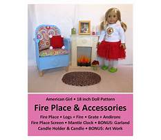 Furniture patterns for american girl dolls Video