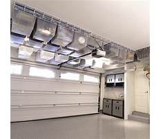 Garage ceiling shelving systems Video