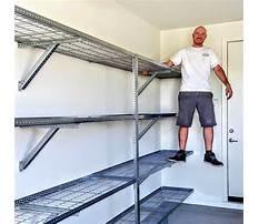 Garage shelving storage systems Video