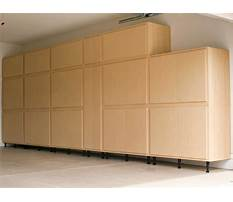 Garage wall cabinets and storage Video