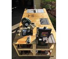 Garage workbench designs free Video