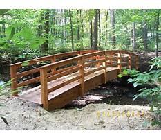 Garden arch bridge design Video