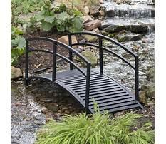 Garden arch bridge Video