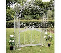 Garden arches with gates uk Video