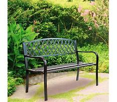 Garden benches for outdoors Video