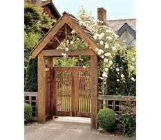Garden gate arbors designs Video