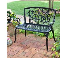 Garden seats and benches Video