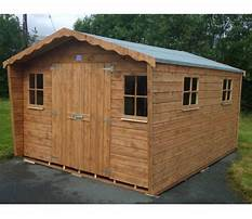 Garden sheds for less Video