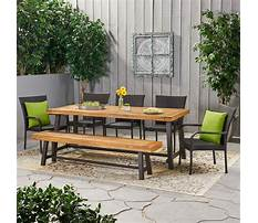 Garden tables and benches Video