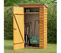 Garden tool storage shed plans Video