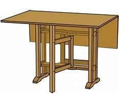Gateleg table plans free Video