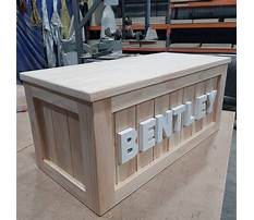Girl toy chest plans Video