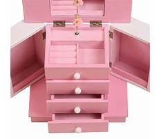 Girls wooden jewelry box Video