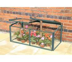 Glass cold frames Video