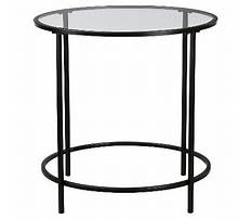 Glass top end tables target Video