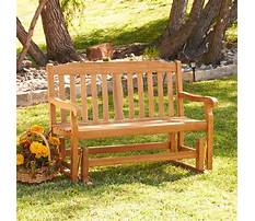 Glider benches for sale Video