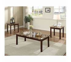 Granite coffee and end tables Video