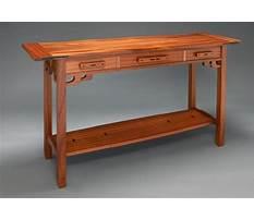 Greene and greene style furniture plans Video