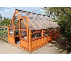 Greenhouse building plans free Video