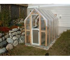 Greenhouse homemade plans Video