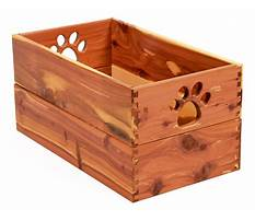 Handmade wooden dog toy boxes Video