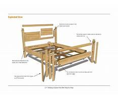 Hardwood bed woodworking plans.aspx Video