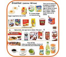 Hcg diet what to eat for breakfast Video