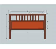 Headboard plans for queen beds Video