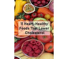 Healthy diet for someone with high cholesterol Video