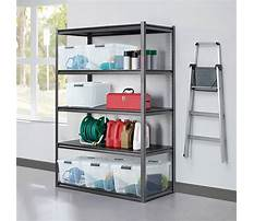 Heavy duty garage shelving costco Video
