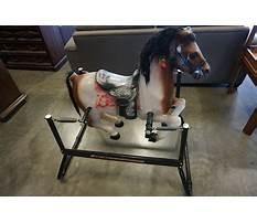 Hedstrom rocking horse parts Video