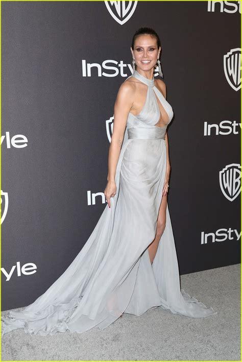 Heidi Klum Golden Globes After Party